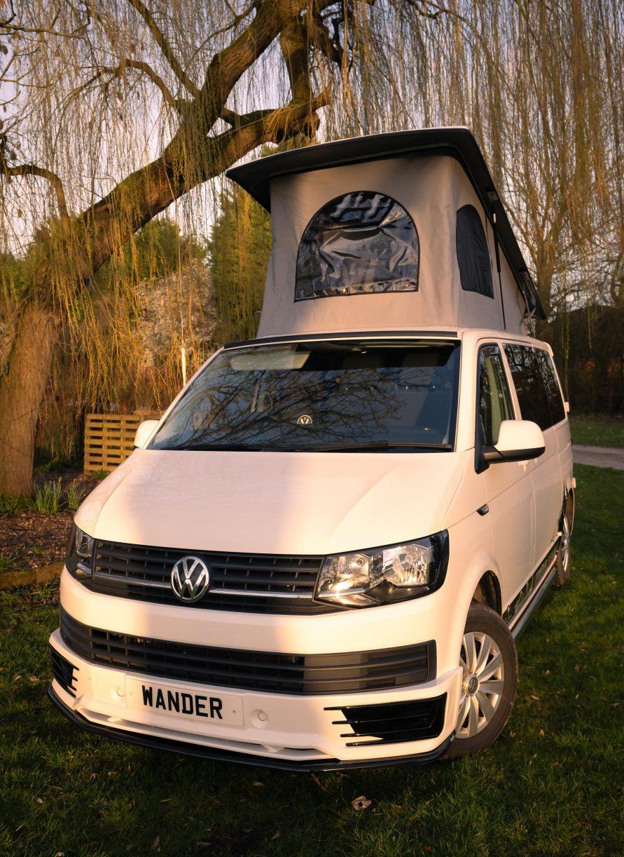 Standard Campervan – 4/5 Berth VW T6 Camper SWB