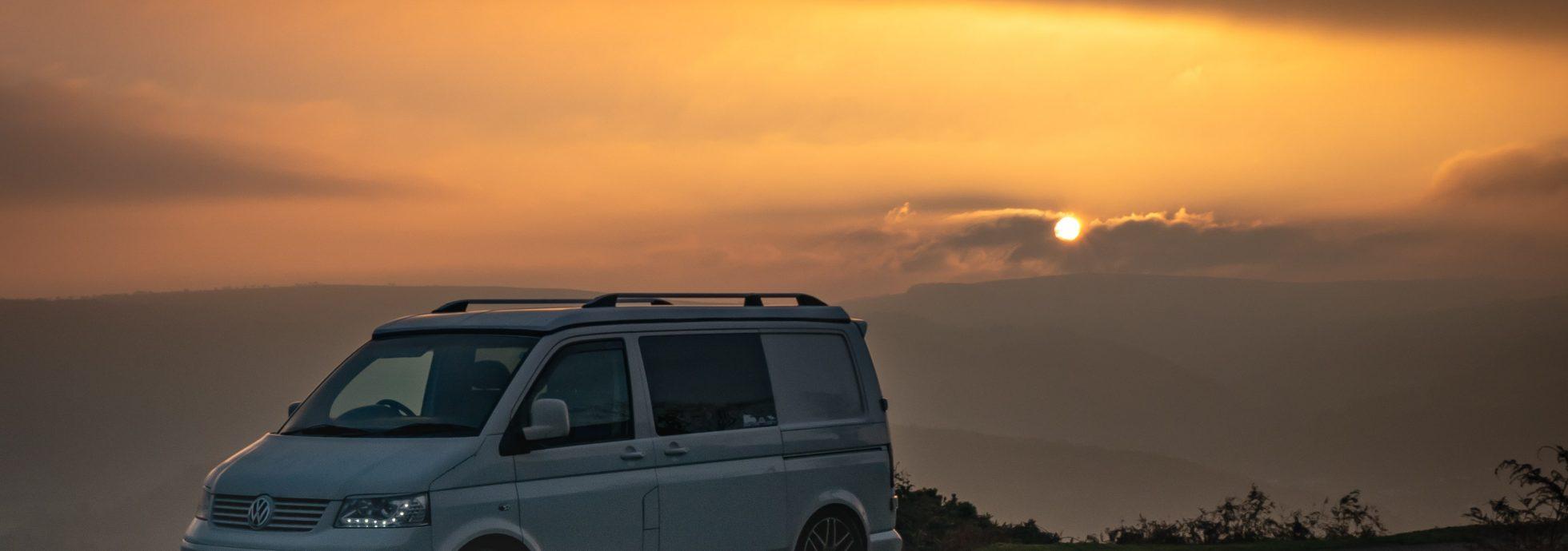 Wander Beyond Campervan Sunset-min